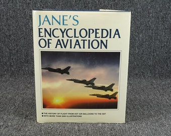 Jane's Encyclopedia Of Aviation By Michael J. Taylor C. 1989