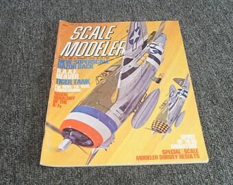 Scale Modeler Volume 7 Number 2 August 1972