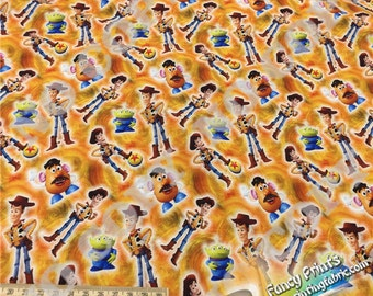 Toy Story fabrics,  New Arrival, digital printed FCM82  - 1 meter