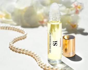 Compare to SI scent Pure Perfume Oil Natural Vegan, Not tested on Animals, Coconut Oil Roll-On Perfume 10 ml