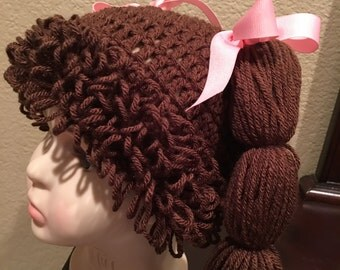 Cabbage Patch hat ....size 3 to 8 years old