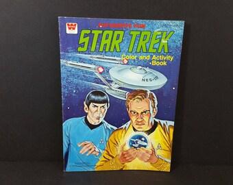Vintage Star Trek Color and Activity Book 1979