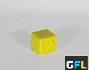 New Style 3D printed Mario Block SD card holder