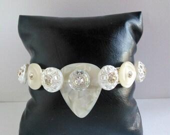 "New woman bracelet ""Picks"" Unique and handmade"