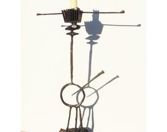 Wrought iron sculpture #1