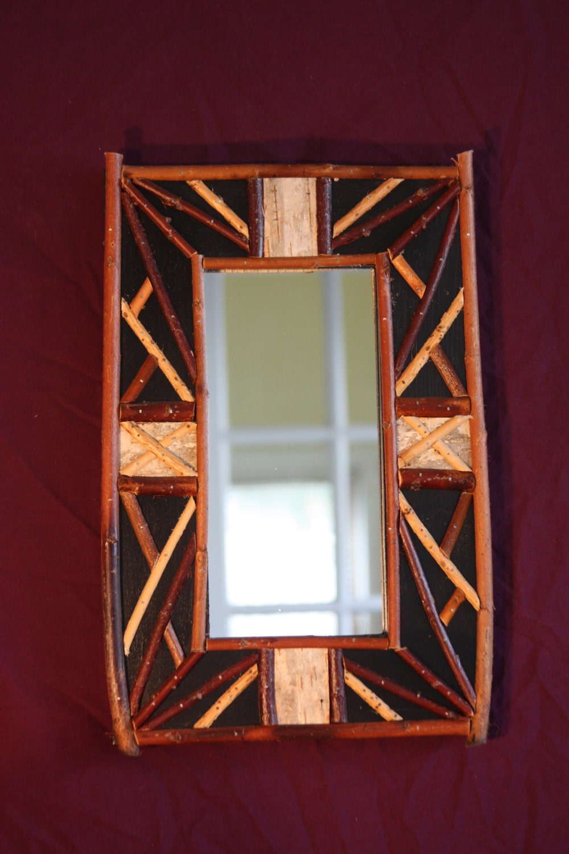 5x10 Rustic Frame Mirror Cabin Mirror Housewarming Gift