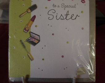 To A Special Sister Birthday Card
