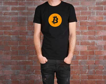 Bitcoin T Shirt FREE SHIPPING Bitcoin Logo Blockchain Ethereum Blockchain HODL