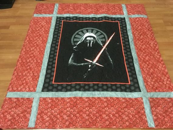 Kylo Ren,Star Wars, quilt throw