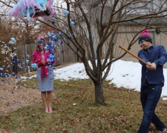 It's A Gender Reveal Pull Strings or Traditional Pinata