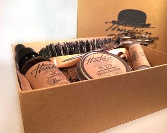 Beard Care gifts for men   Mens Grooming   Beard Grooming kit   mens gift set   Beard Kit Gift  Gift for Him   gift for boyfriend
