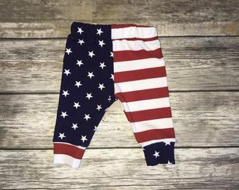 Patriotic Baby Leggings