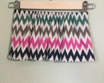 Chevron Patterned Baby Skirt