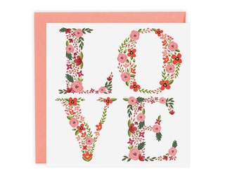 Love Blooms Card