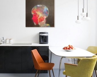 Colourful funky home decor art accessories by for Funky home decor accessories