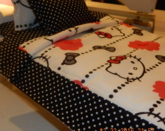 Custom Bedding - Hello Kitty
