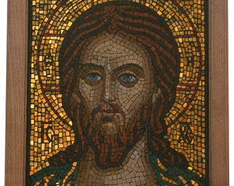 Mosaic icon of Jesus Christ