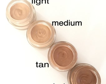 NEW! Organic Petal Concealer, Eye Cream with Tint, Age and Acne Defy, Vegan