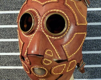 """Steampunk mask """"Angry Owl"""""""