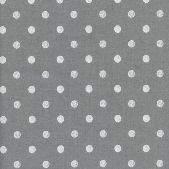 Crib Sheet >> Rifle Paper Co. Wonderland Dots in Grey > MADE-to-ORDER grey dots mini crib, neutral crib sheet, grey bassinet baby bedding