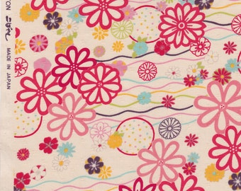 Komachi Japanese in Pink - Voile Cotton
