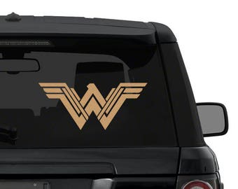 NEW Wonder Woman Decal Sticker for Car Truck Laptop 4-25 inches die cut vinyl ANY COLOR