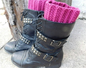 Crochet Boot Cuffs, Boot Toppers, Boot Socks, Faux Leg Warmers, Womens Fashion Accessories, Fall Accessories, Winter Accessories