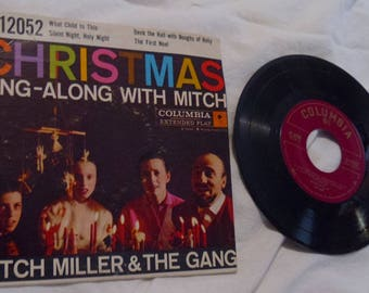 Mitch Miller 45 rpm Record Extended Play w/ Original Picture Sleeve