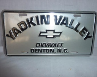 Vintage Chevrolet Dealer Yakin Valley Chevrolet Denton NC