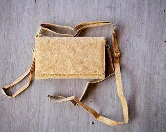 Cork Bag /Wallet, Kork - Handbag made from recycled cork