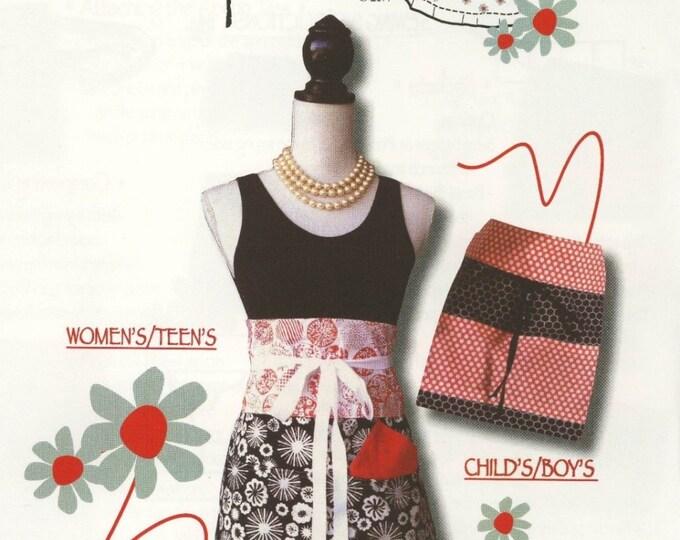 Trisha Jane Aprons by Trisha Jane Patterns - Paper Pattern