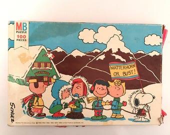 Vintage Peanuts Puzzle