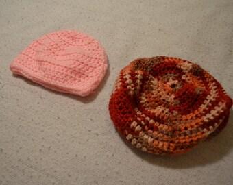 Crochet simple hats