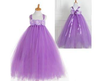Toddler Tutu Dress - Flower Girl Tutu Dress - Birthday Tutu Dress - Princess Tutu - Photo Prop