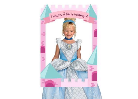 Princess Theme Photo Booth / DIGITAL FILE / Prop Frame / Disney ...
