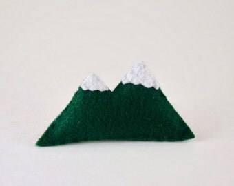 Felt Mountain Catnip Cat Toy Handmade