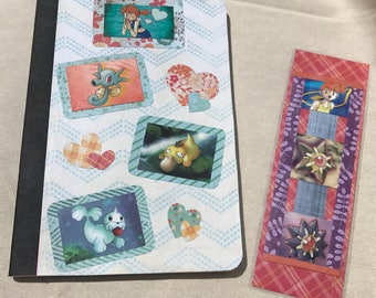 Pokemon Misty Notebook with Free Bookmark