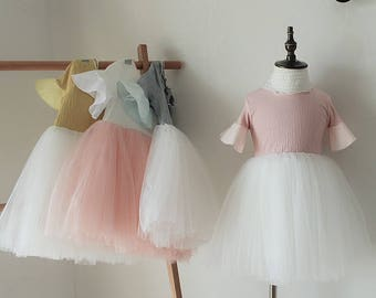 girls children summer  princess skirt