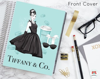 Breakfast At Tiffany's | COVER | Erin Condren | Recollection | Happy Planner | Planner Cover