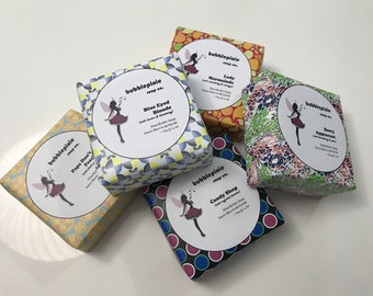 Choose Any 3 Bars of Handcrafted Shea Butter Soap