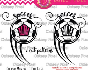 Soccer Mom Frames Svg cutting file, soccer mom svg, mom svg, SVG, DXF, sports svg, Silhouette Studio, Digital Cut Files, soccer svg