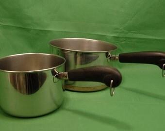 Vintage Copper Pots Etsy