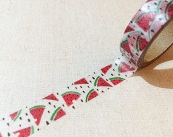 Juicy Fruit Washi Tape - Watermelon