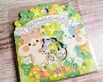 Happy Hamu Hamu Sticker Flakes