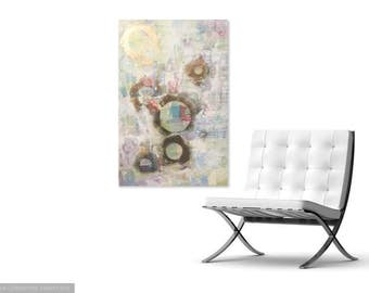 Wall Art | Wall Decor | Large Wall Art | Large Abstract Painting | Mixed Media | Mixed Media Art | Mixed Media Wall Art | Contemporary Art