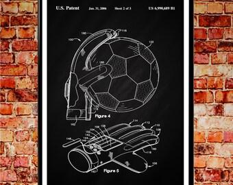 Soccer Art Goalkeeper Gift Goalkeeper Poster Soccer Poster Soccer Print Soccer Decor Soccer Gift for Goalie Soccer Wall Art Sport Art WB061