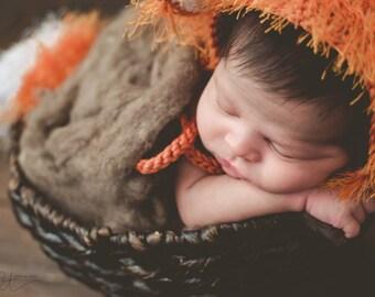Baby Fox Outfit - Woodland Nursery - Baby Shower Gift - Newborn Photo Prop - Woodland Baby Shower - Woodland Animals - Newborn Gift