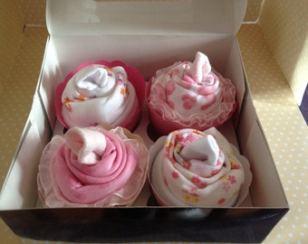 Onesie Cupcakes Baby Gift