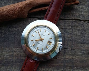 Rare ladies watches, self-winding watches, collectible watches, gold-plated watches, miniature watches, small watches, USSR watches