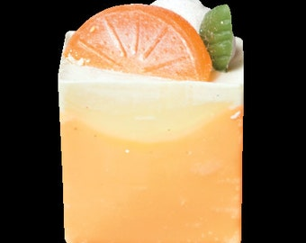 Cake Soap Fresh Orange